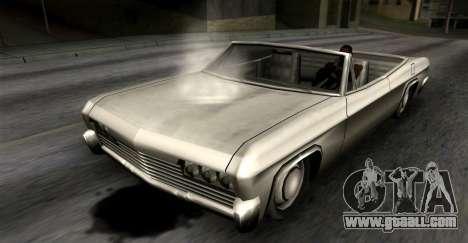 Oil leakage for GTA San Andreas