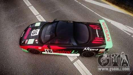 Honda NSX 1998 [EPM] castrol for GTA 4 right view