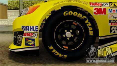 NASCAR Toyota Camry 2013 for GTA San Andreas back left view