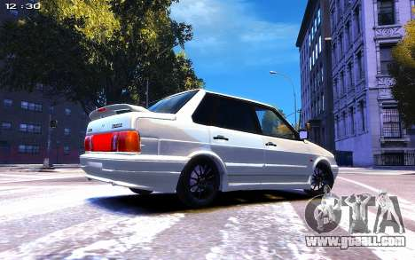 Lada 2115 for GTA 4 right view