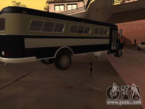 Bus из GTA 3 for GTA San Andreas back left view