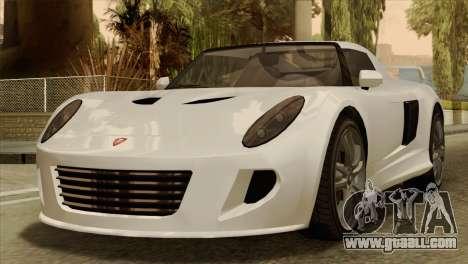 GTA 5 Coil Voltic v2 IVF for GTA San Andreas