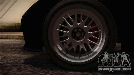 GTA 5 Invetero Coquette v2 IVF for GTA San Andreas back left view