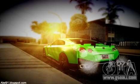 Blacks Med ENB for GTA San Andreas sixth screenshot