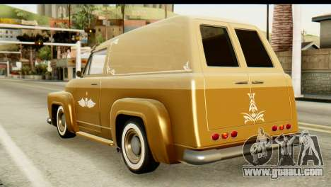 EFLC TLaD Vapid Slamvan for GTA San Andreas left view
