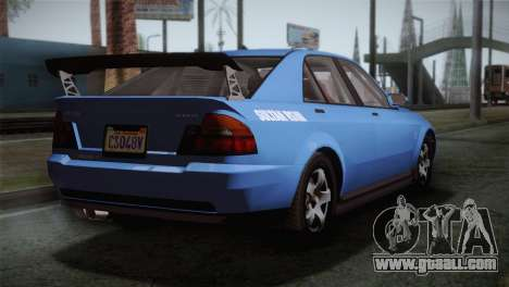 GTA 5 Karin Sultan IVF for GTA San Andreas