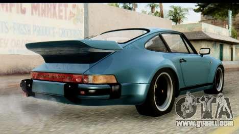 Porsche 911 Turbo 3.3L 1981 Tunable for GTA San Andreas left view