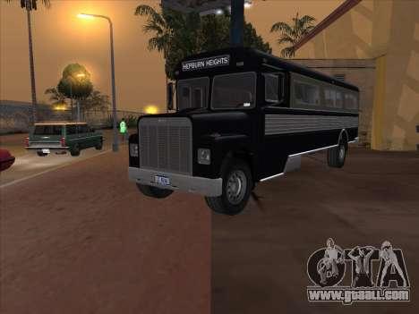 Bus из GTA 3 for GTA San Andreas right view