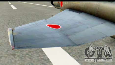 F-4EJ Mitsubishi Heavy Industries for GTA San Andreas back left view