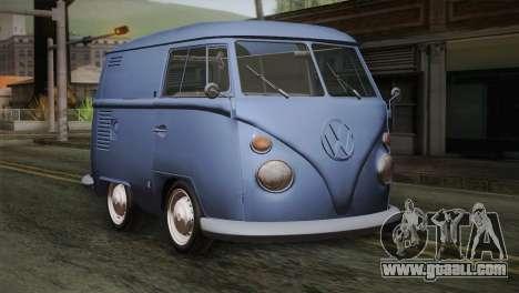 Volkswagen T1 Short for GTA San Andreas