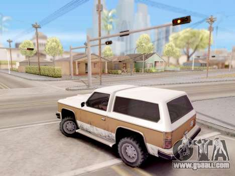 Real control from GTA 4 for GTA San Andreas
