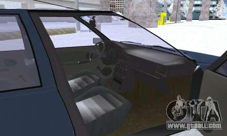 Dacia Super Nova for GTA San Andreas wheels
