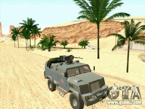 Armored Bear for GTA San Andreas