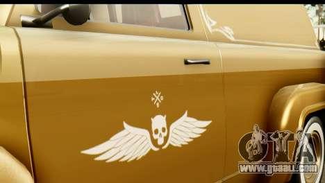 EFLC TLaD Vapid Slamvan for GTA San Andreas right view
