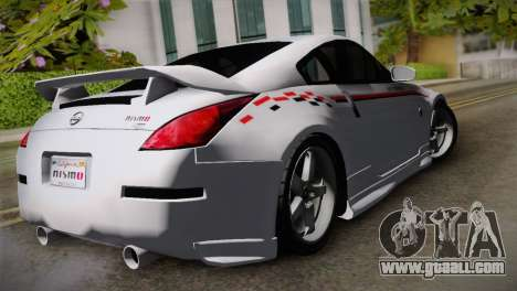 Nissan 350Z Nismo for GTA San Andreas left view