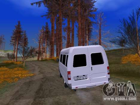 GAZ 2705 for GTA San Andreas inner view
