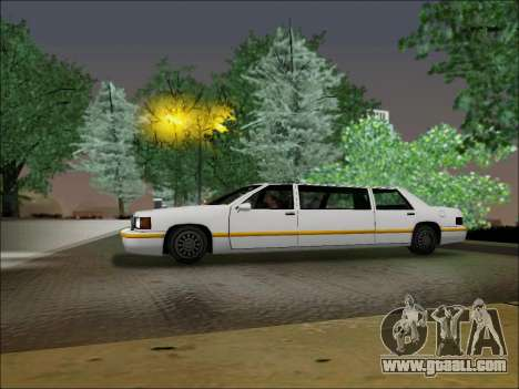 Elegant Limousine for GTA San Andreas left view