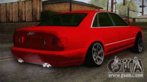 Audi A8 2000 for GTA San Andreas left view