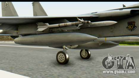 F-15J Mitsubishi Heavy Industries for GTA San Andreas right view