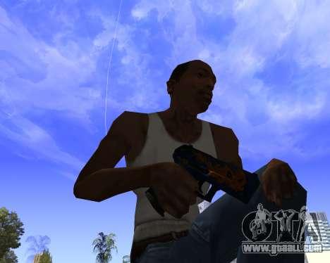 Skins Weapon pack CS:GO for GTA San Andreas seventh screenshot