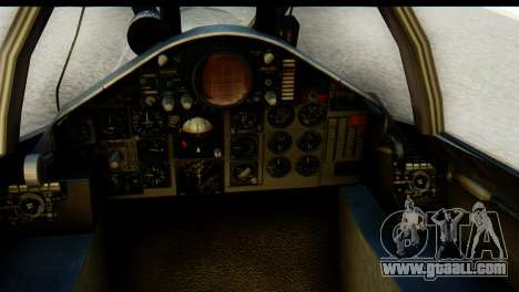 F-4EJ Mitsubishi Heavy Industries for GTA San Andreas back view