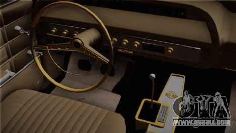 Chevrolet Impala for GTA San Andreas right view