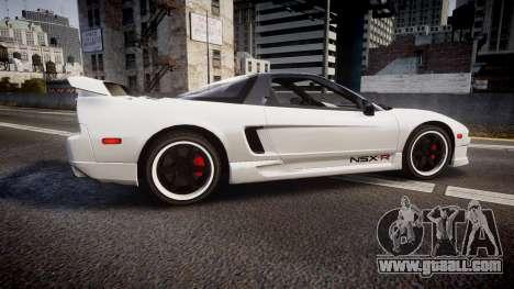 Honda NSX 1998 [EPM] nsx-r for GTA 4 left view