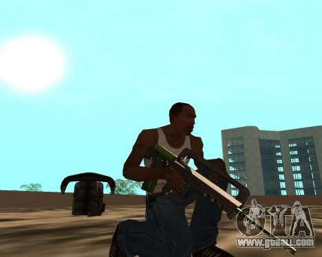 Sharks Weapon Pack for GTA San Andreas ninth screenshot