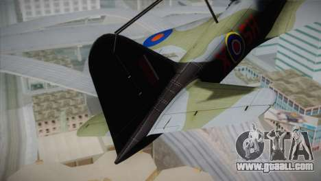ИЛ-10 Royal Air Force for GTA San Andreas back left view