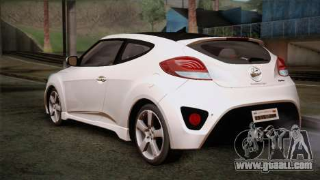 Hyundai Veloster 2012 Autovista for GTA San Andreas left view