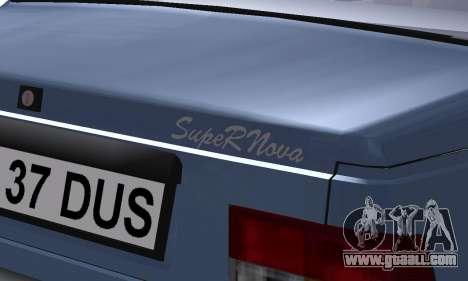 Dacia Super Nova for GTA San Andreas upper view