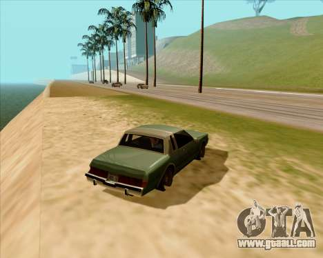 Real ENB Series for GTA San Andreas second screenshot
