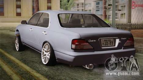 Nissan Cedric for GTA San Andreas left view