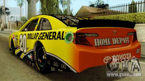 NASCAR Toyota Camry 2013 for GTA San Andreas left view