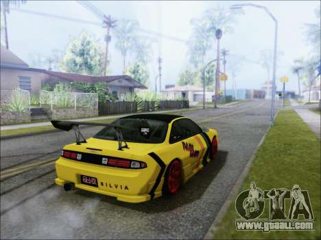 Nissan Silvia S14 FD for GTA San Andreas left view