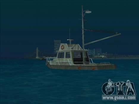 Reefer из GTA 3 for GTA San Andreas back left view