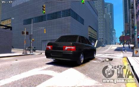 Lada 2110 for GTA 4 left view
