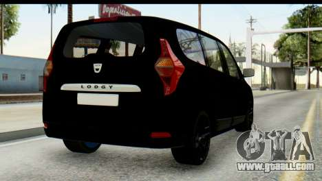Dacia Lodgy for GTA San Andreas left view
