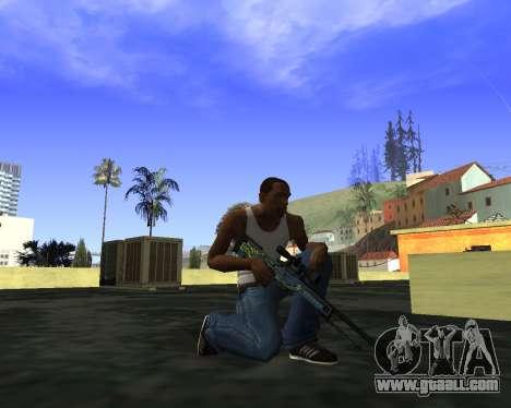 Skins Weapon pack CS:GO for GTA San Andreas second screenshot