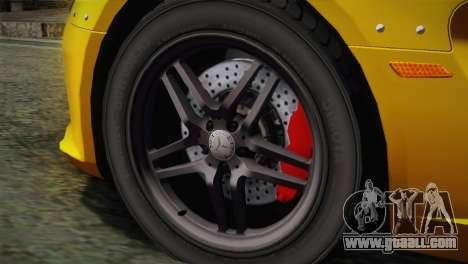 Mercedes-Benz SLR McLaren Stirling Moss for GTA San Andreas back left view