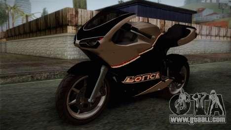 GTA 5 Bati Police for GTA San Andreas
