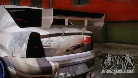 Dacia Logan Most Wanted Edition v1 for GTA San Andreas right view