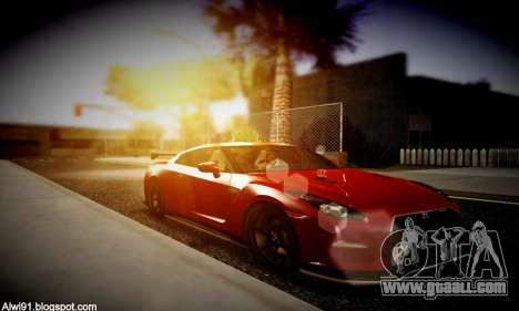 Blacks Med ENB for GTA San Andreas seventh screenshot