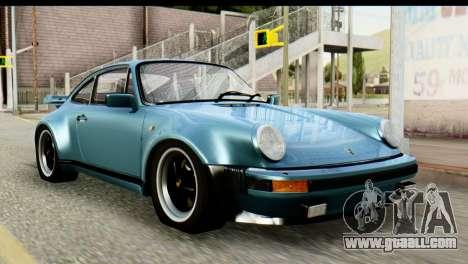 Porsche 911 Turbo 3.3L 1981 Tunable for GTA San Andreas