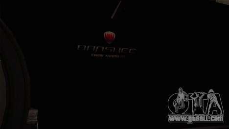 GTA 5 Invetero Coquette v2 IVF for GTA San Andreas right view