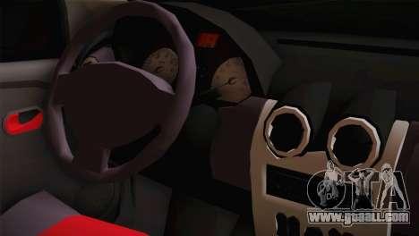 Dacia Logan Most Wanted Edition v3 for GTA San Andreas right view