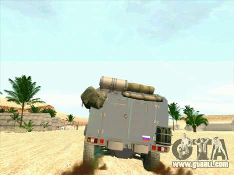 Armored Bear for GTA San Andreas right view