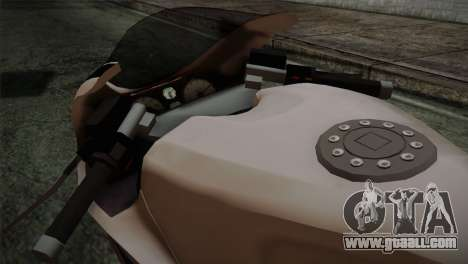 GTA 5 Bati Police for GTA San Andreas right view