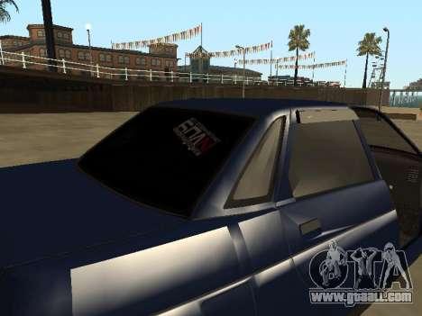 VAZ 2110 for GTA San Andreas bottom view