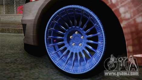 Dacia Logan Most Wanted Edition v2 for GTA San Andreas back left view